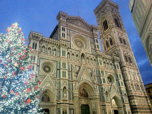 Duomo and Tree